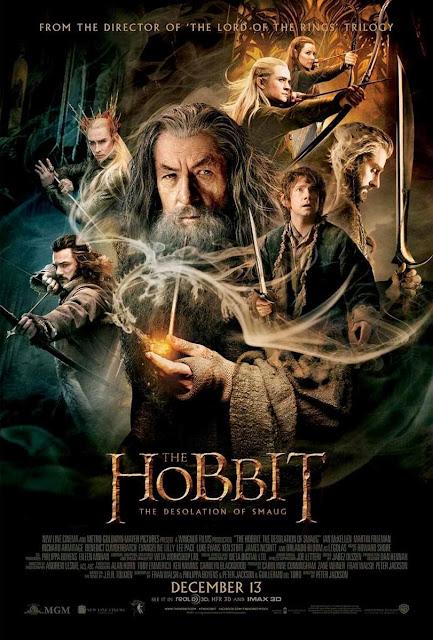 Poster Hobbit la Desolación de Smaug