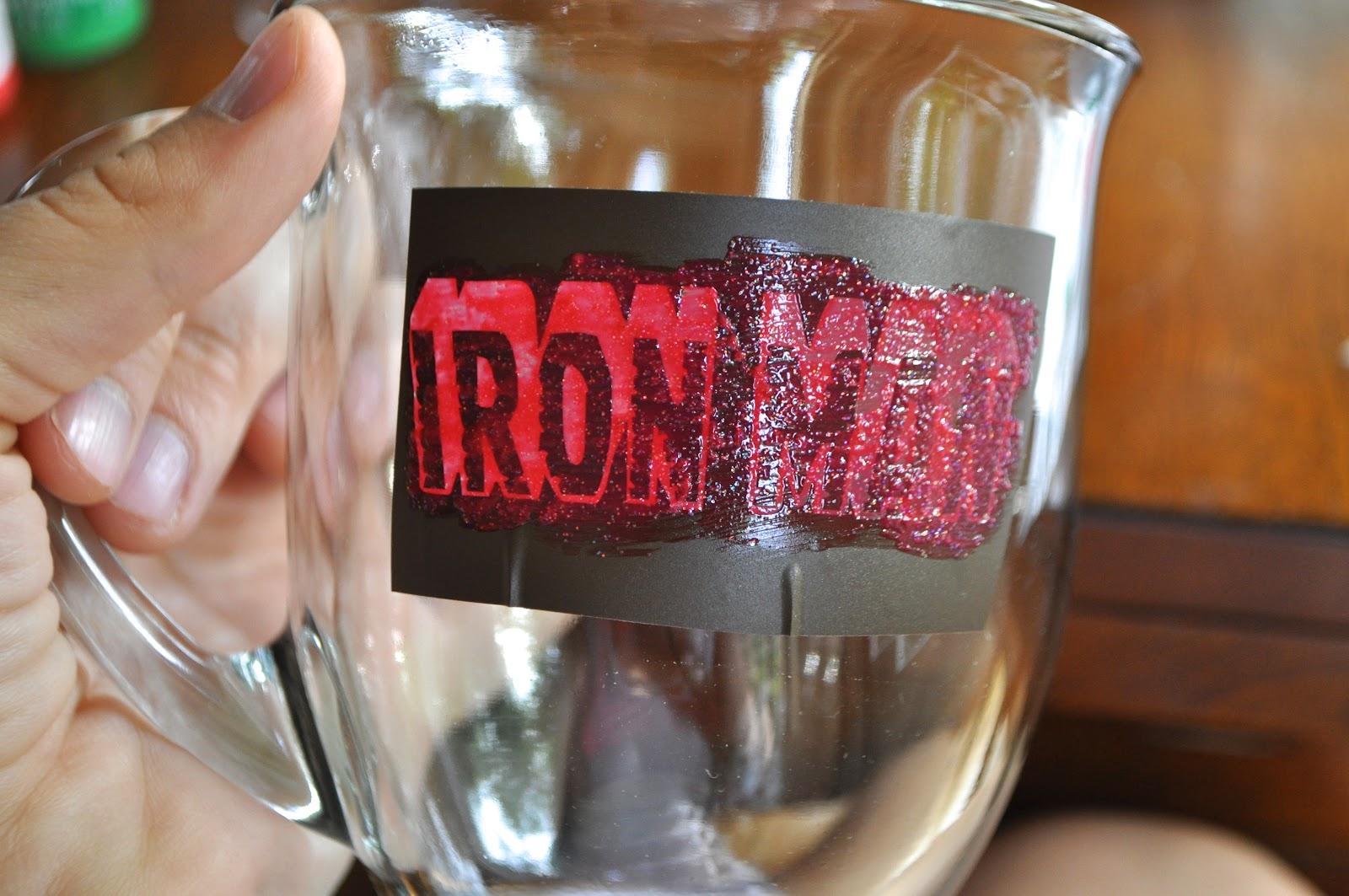 I Am Momma Hear Me Roar Painted Glass Mugs