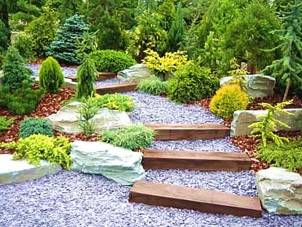 Backyard landscaping ideas with hill is listed in our backyard - Stone Garden Where Is The Best Place Available However A Planned Rock
