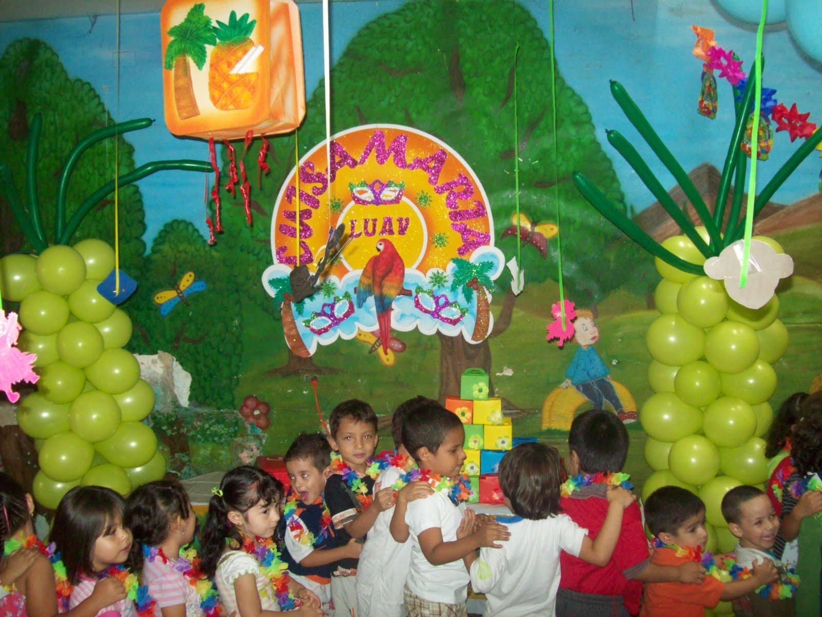 Fiestas tematicas infantiles diferentes opciones en decoraci  n y
