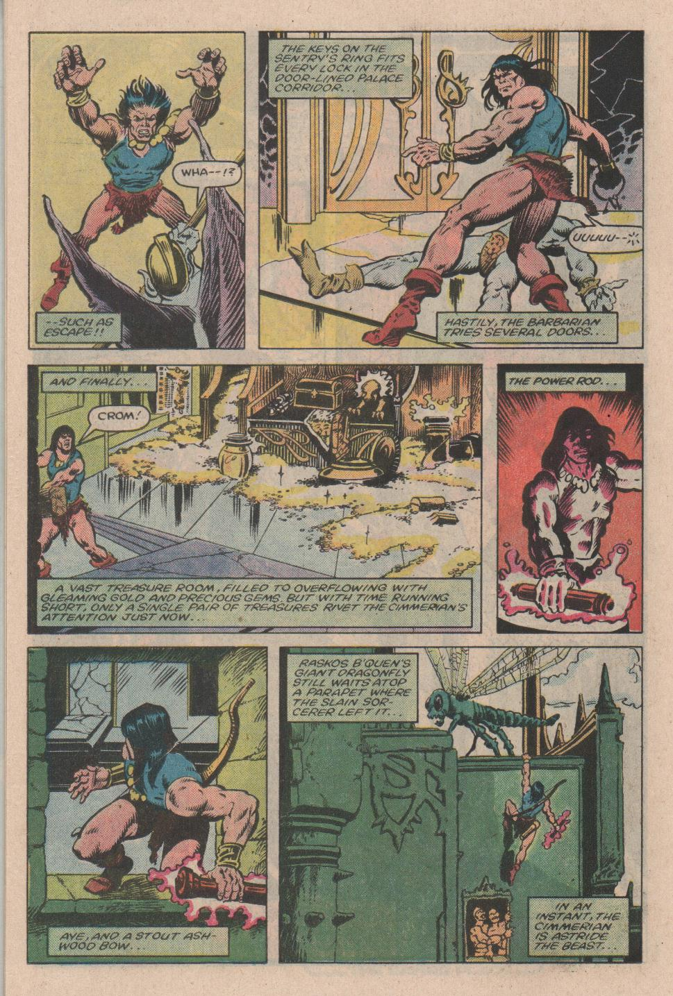 Conan the Barbarian (1970) Issue #154 #166 - English 19