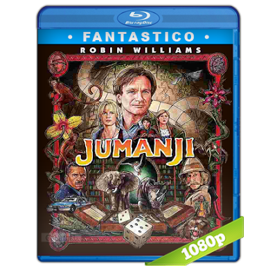 Jumanji (1995) BRRip Full 1080p Audio Trial Latino-Castellano-Ingles 5.1