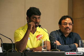 CCL 4 Chennai Rhinos Team Press Meet | ~ Bollywood and South Indian Cinema Actress Exclusive Picture Galleries
