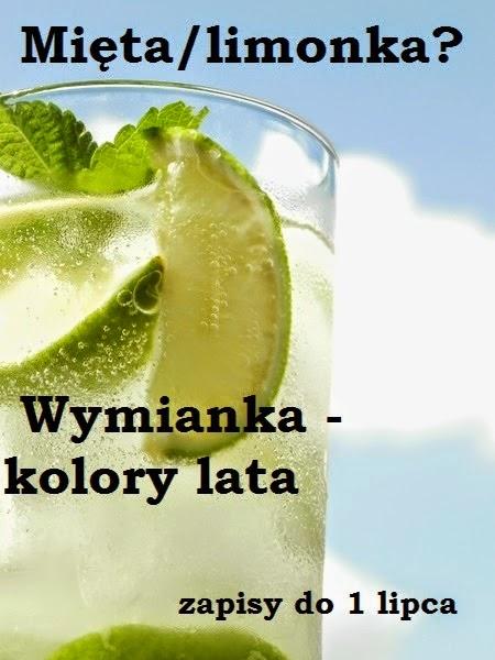 Miętowo - limonkowy szał wymiankowy :)