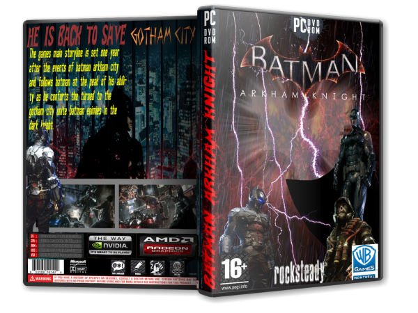 Capa Batman Arkham Knight PC