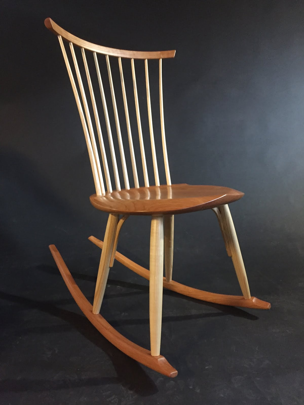 Superb img of  .com: New Windsor Bench and Rocking Chair at TimothyClark.com with #996D32 color and 1200x1600 pixels