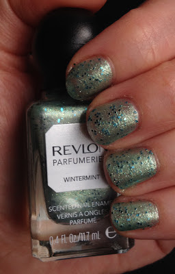 My 2014 in nails, #ManiMonday, Mani Monday, manicure, nails, nail polish, nail lacquer, nail varnish, Revlon Parfumerie Scented Nail Enamel Wintermint
