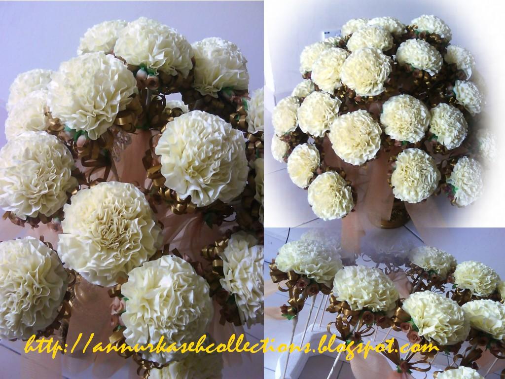 Gubahan hantaran,bunga telur,bunga tisu,bunga dulang,mini pelamin
