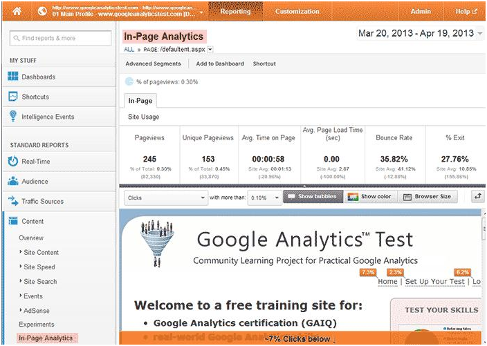 Google Analytics Test Questions and Answers