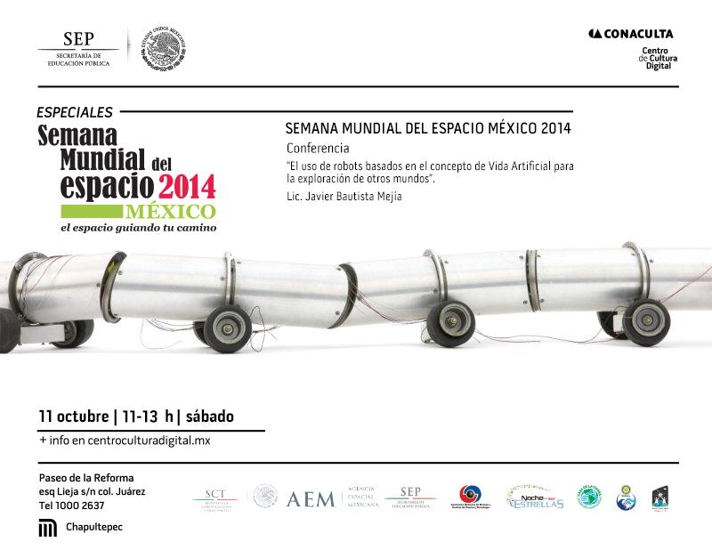 Semana Mundial del Espacio 2014 en el Centro de Cultura Digital