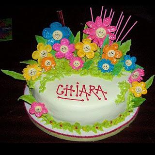Tortas con Flores para Fiestas Infantiles, parte 1