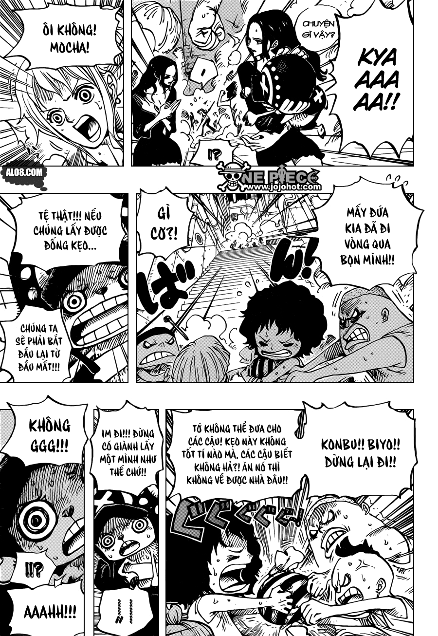 One Piece Chapter 688: Mocha 005