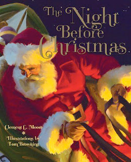 bookcover of THE NIGHT BEFORE CHRISTMAS Illustrated by Tom Browning