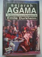 SEJARAH AGAMA, EMILE DURKHEIM