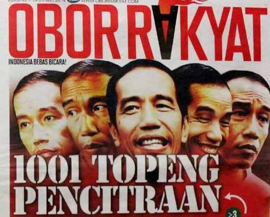 Tabloid Obor Rakyat - 1001 Topeng Pencintraan