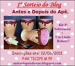 1º Sorteio do Blog, Clique Aqui e Participem !!!