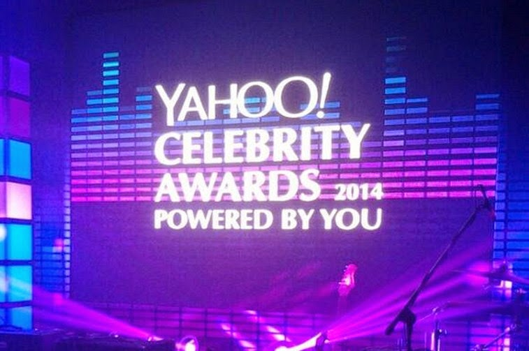 Yahoo Celebrity Awards 2014 Full List of Winners