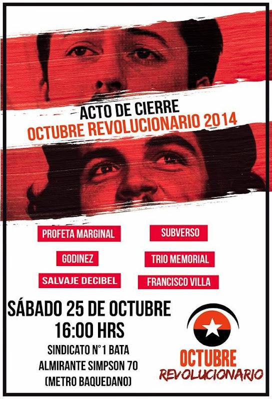 SANTIAGO CENTRO: FOROS OCTUBRE REVOLUCIONARIO SANTIAGO