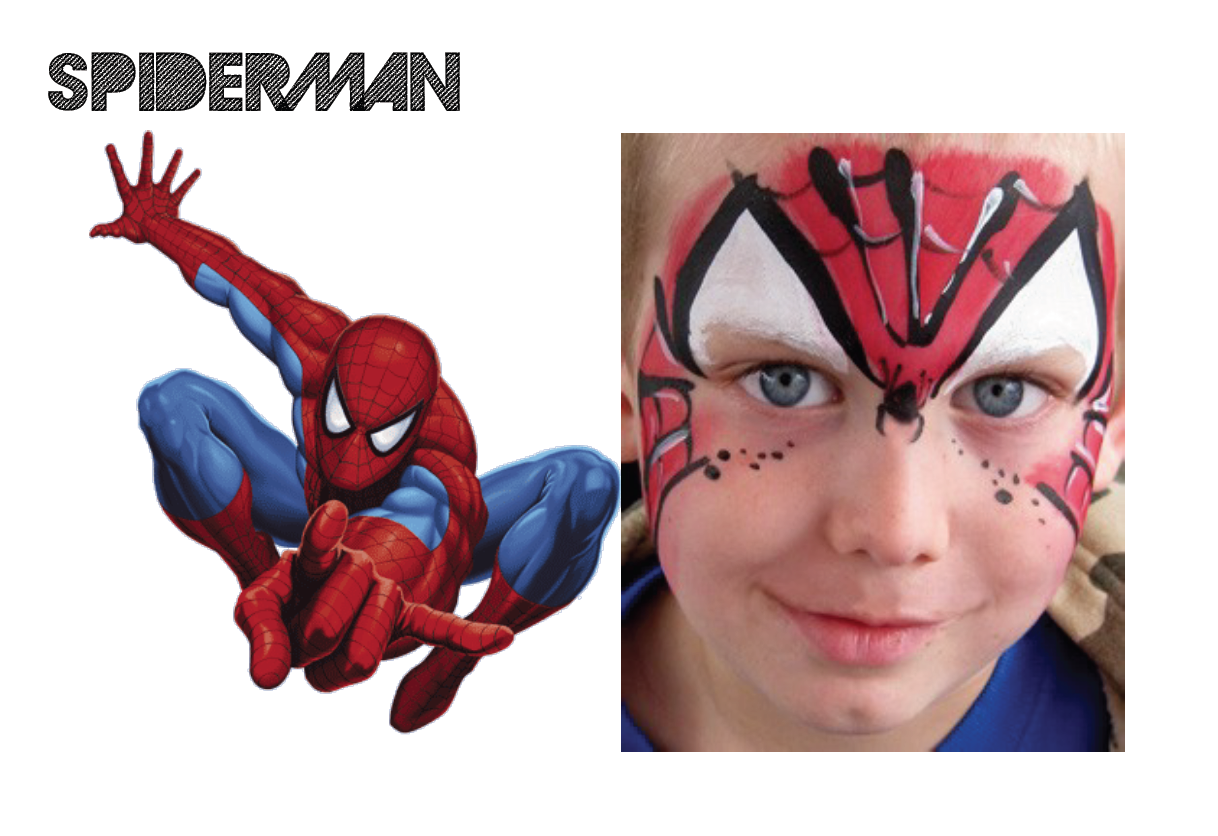 Spiderman Makeup For Kids Images amp Pictures Becuo