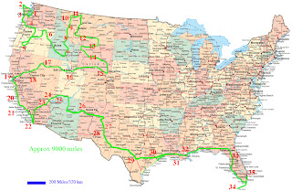 United States of America (USA or U.S.A.) Map Pictures | The World Travel