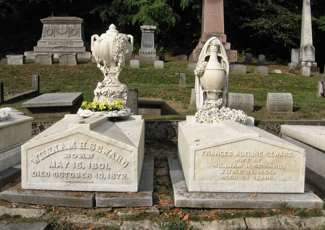 It seems very appropriate that William Seward's final resting place is ...
