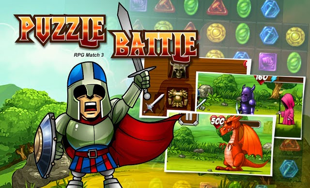 Puzzle Battle RPG Match 3 Gameplay Android