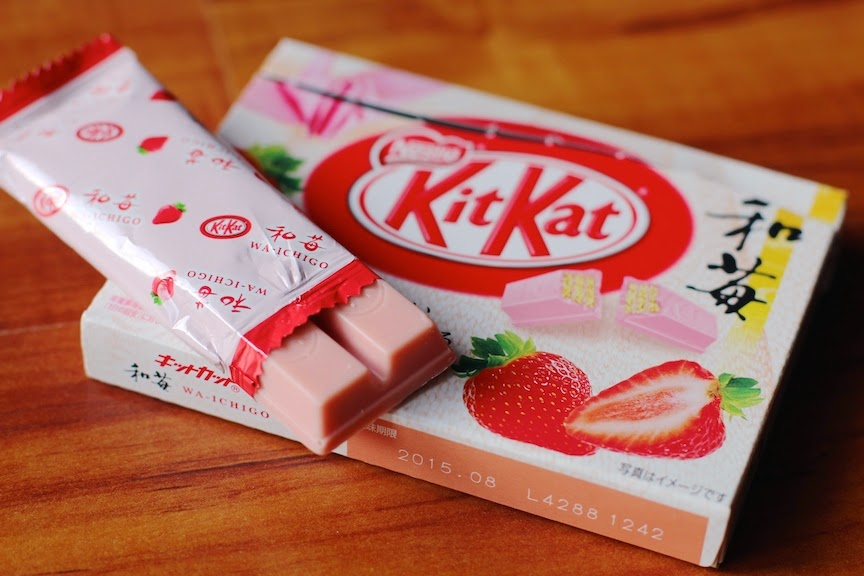 Always remain awesome limited edition kitkats from japan sooo this kit kat tasted a little floral and was probably one of my least favorite flavors still its fun that they make all of these flavors voltagebd Gallery