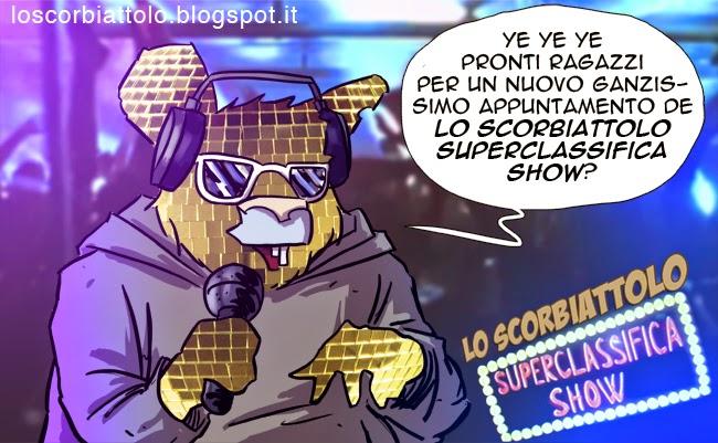 lo scorbiattolo superclassifica show classifica fumetti 2014 funny