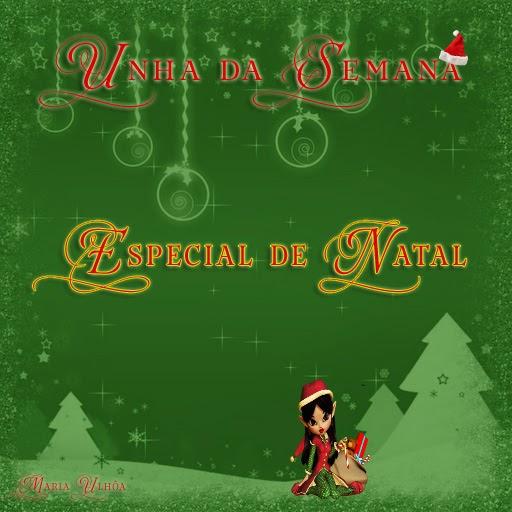 Unha da Semana - Especial de Natal