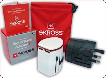 CENTRUM LINK - NEW - 'SKROSS World Travel Adaptor With USB Charger - MPC-N 2""