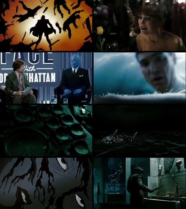 Watchmen 2009 Dual Audio Hindi 480p BluRay 600mb
