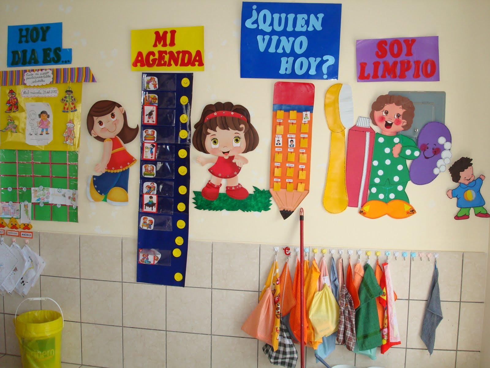 educando con amor decoracion del aula