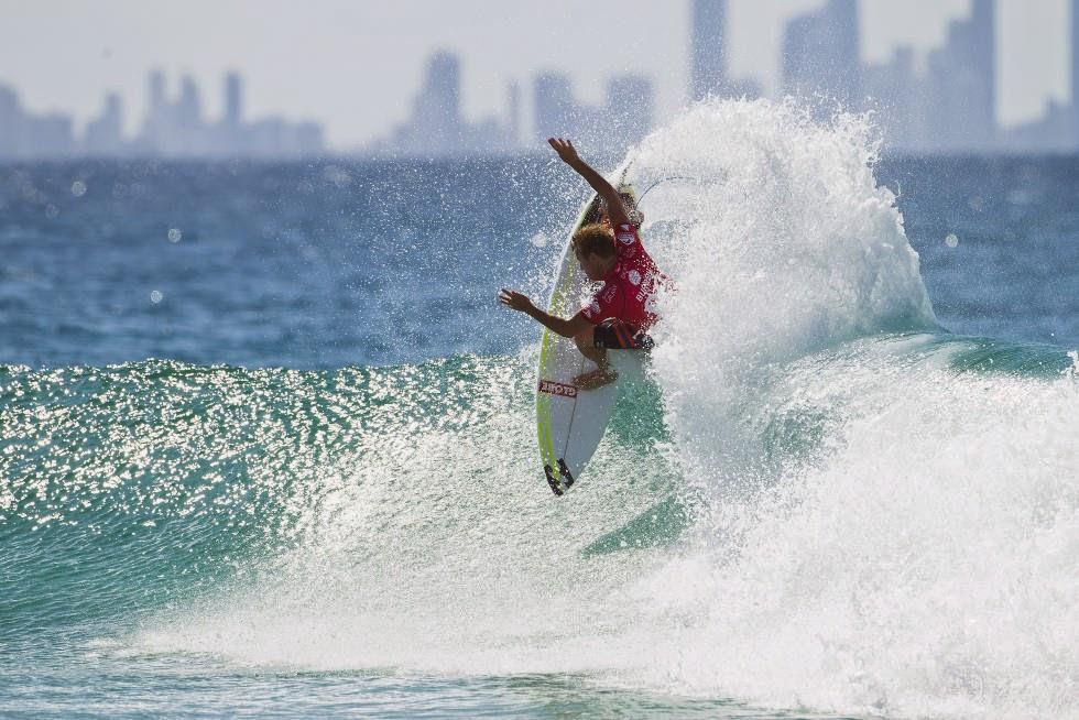 48 Quiksilver Pro Gold Coast 2015 Taj Burrow Foto WSL Kelly Cestari