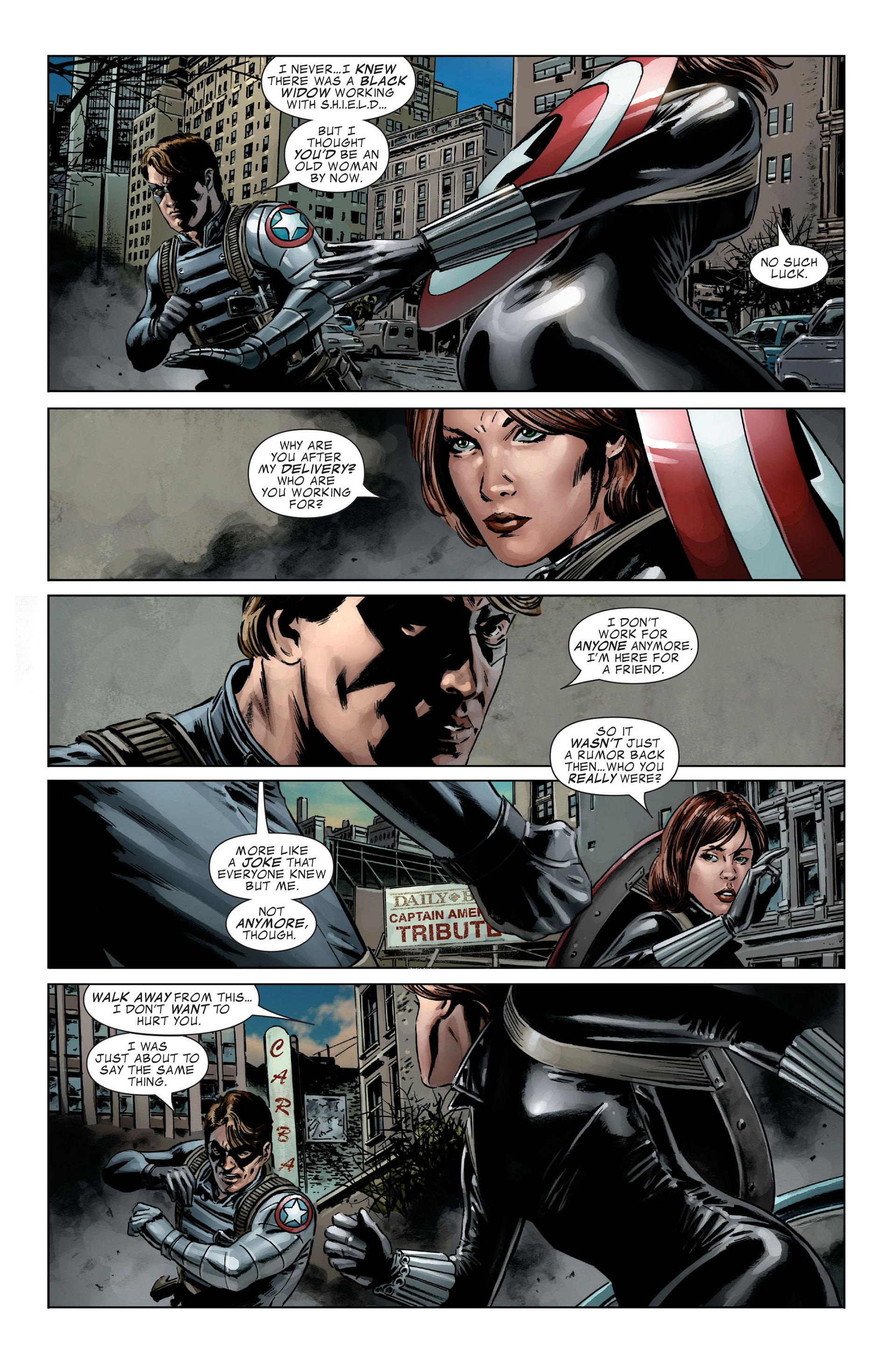 Captain America (2005) Issue #27 #27 - English 16