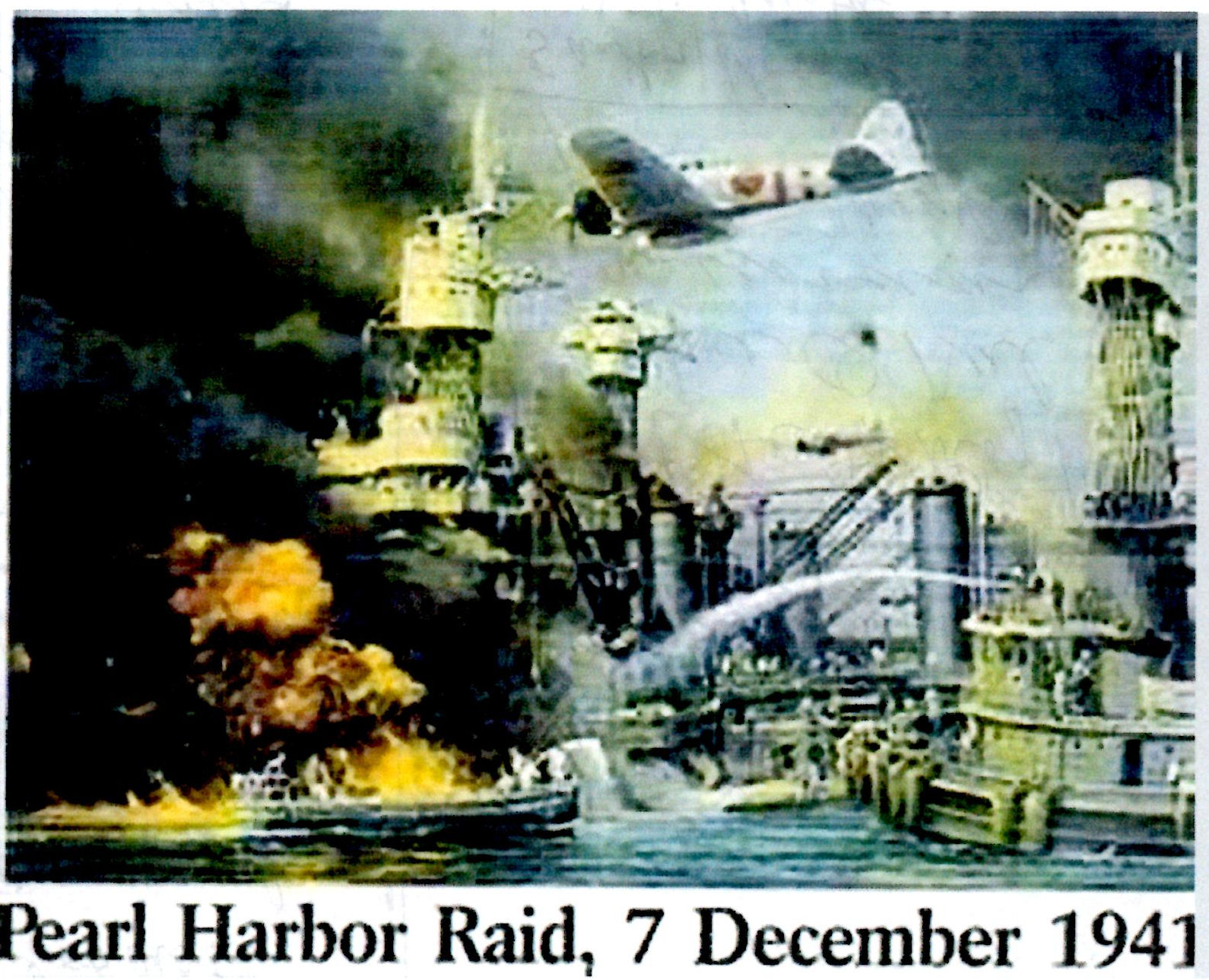 a day not forgotten the attack on pearl harbor essay