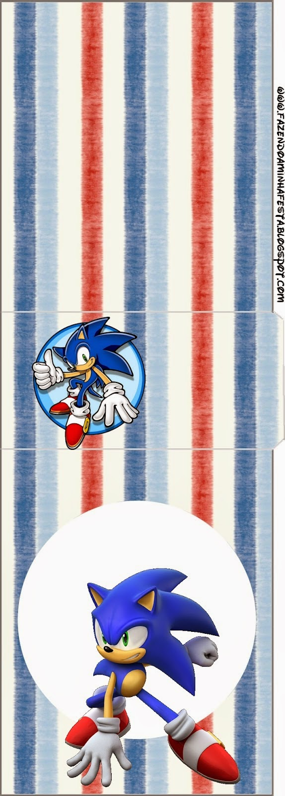Tic Tac Labels of Sonic.