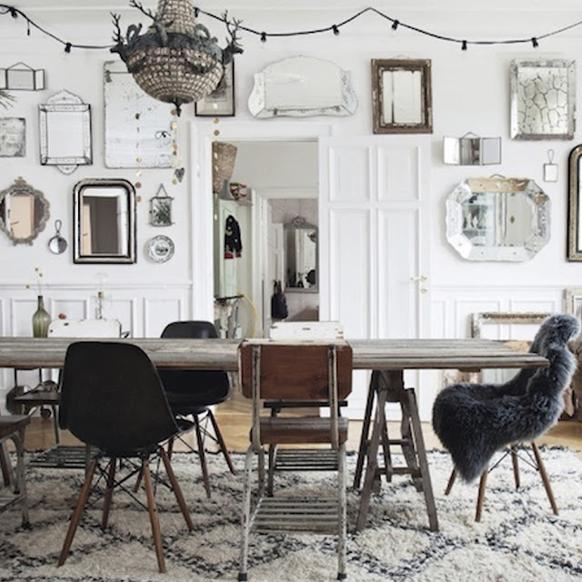 THE DINING ROOM INSPIRATION BOARD - THE ROUND BUTTON BLOG