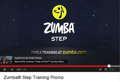 ZUMBA® STEP VIDEO PROMOCIONAL - ZUMBA® en Segovia