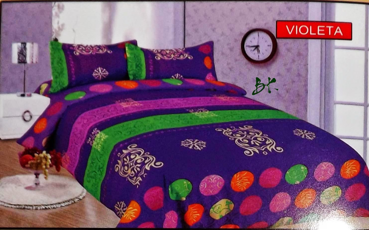 Sprei Bed Cover Bonita Violeta