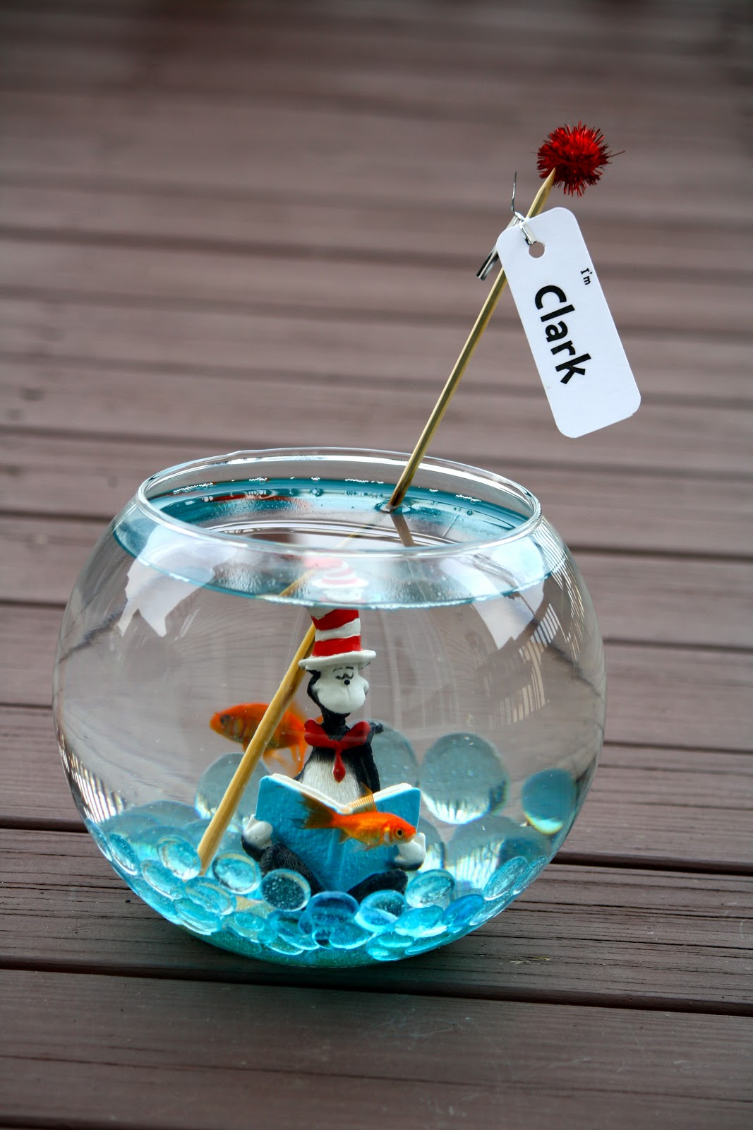 If Anyone Has Read The Cat In Hat Book By Dr Seuss You Should Be All Too Familiar With Responsible Fish Named Clark