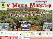CARTEL V MEDIA MARATON SUBIDA AL CAMORRO