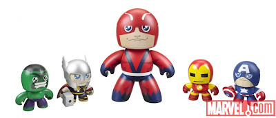 San Diego Comic-Con 2011 Exclusive The Avengers Mini Mighty Muggs Set - Hulk, Thor, Giant Man, Iron Man & Captain America