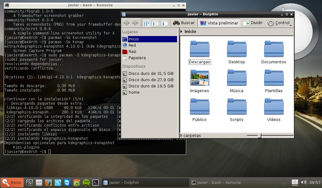 Linux a tu alcance  Como instalar Razor qt en Arch Linux