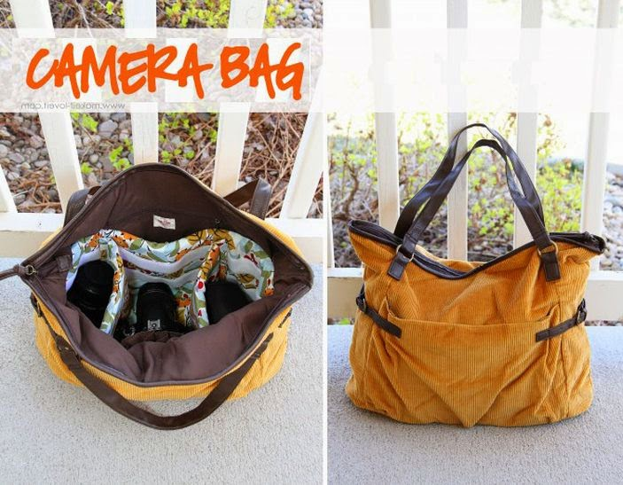 Сумка для фотокамеры.  Camera Bag DIY tutorial