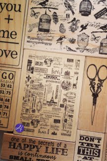 7gypsies wood stamps