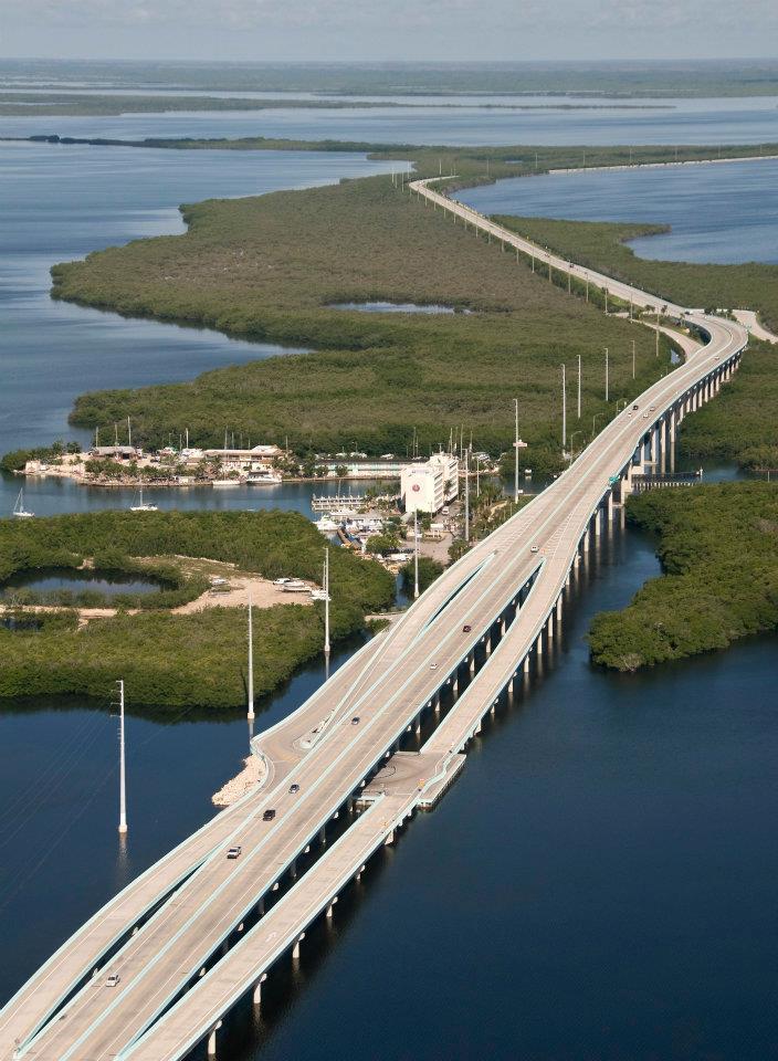 The florida keys real estate conchquistador new road to for Florida keys bridge fishing