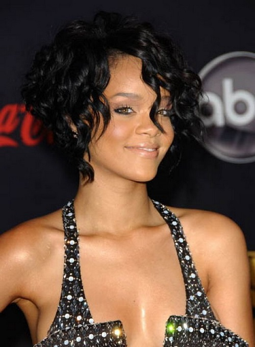 Pretty Bob Hairstyles for Black Women with Bangs
