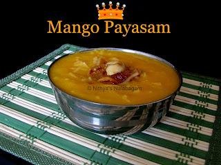 Mango Payasam | Mango Kheer