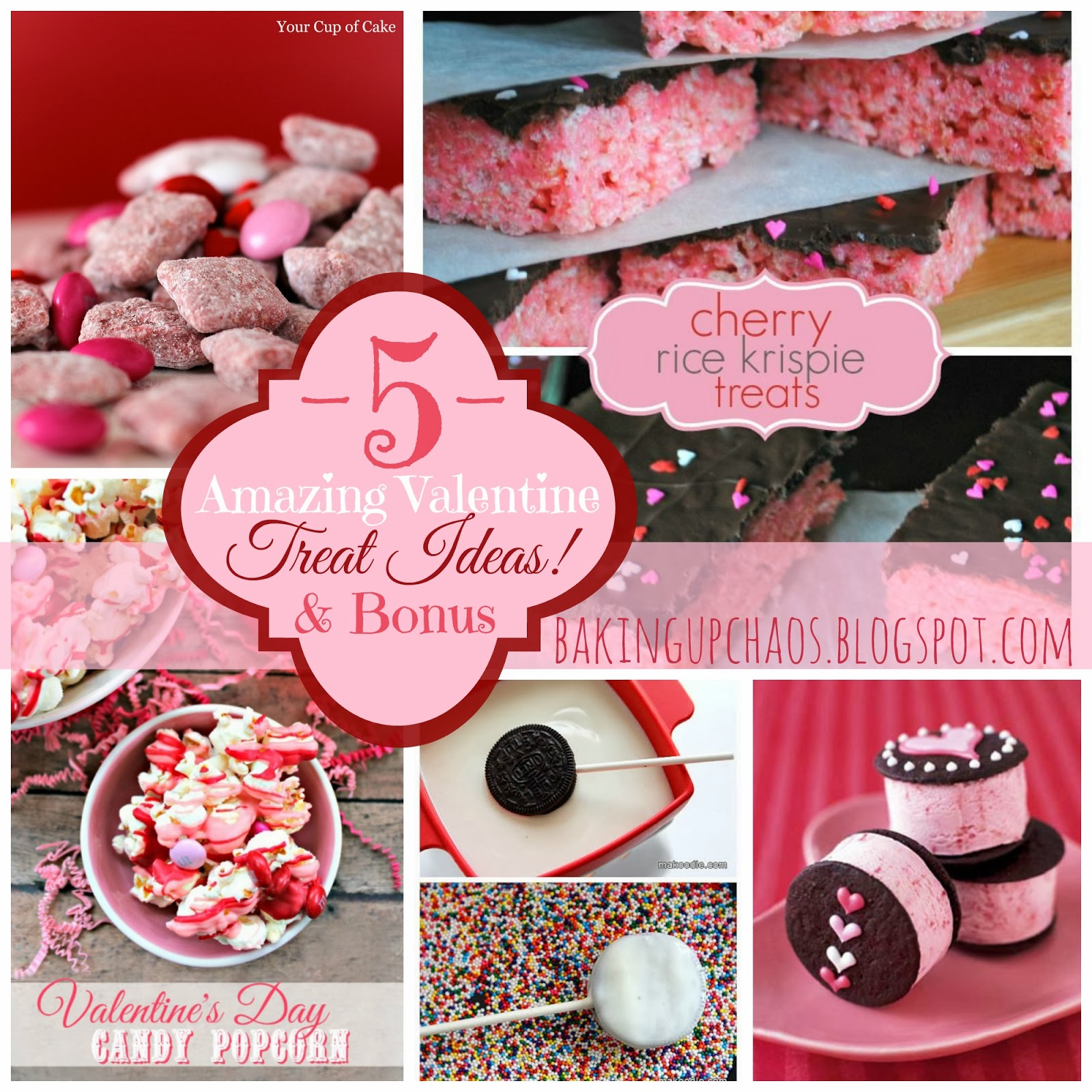 5 Valentine Treat Ideas