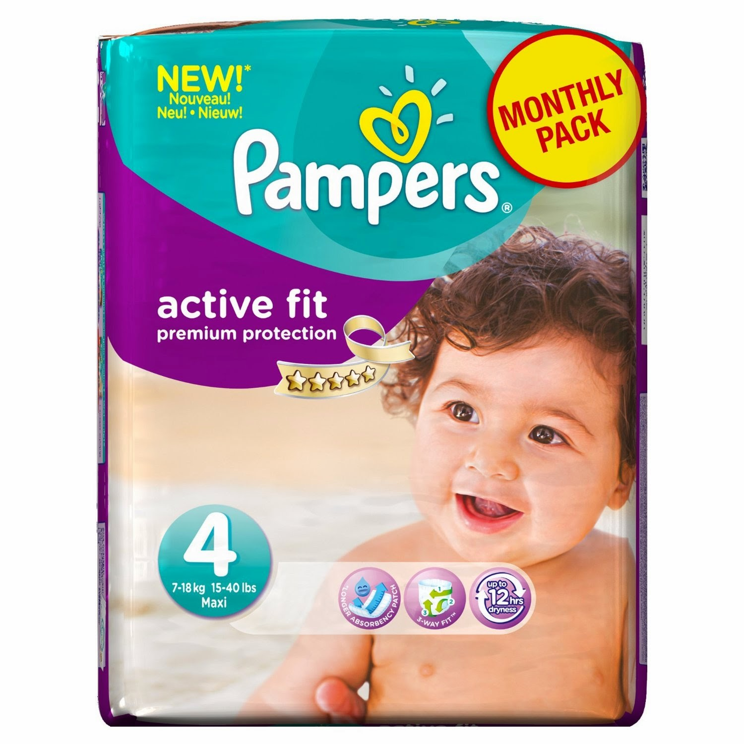 Promo couches pampers pas cher tailles 3 4 et 5 active fit promotions 2018 - Couche pampers taille 5 pas cher ...